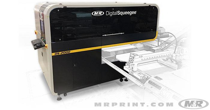 DS-2000™ Digital Squeegee® Hybrid Printing System