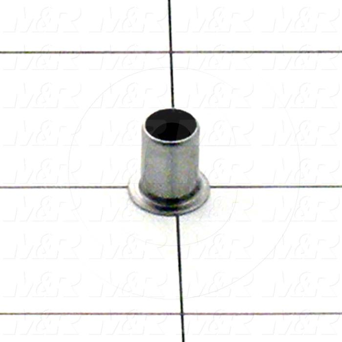 "Eyelet, Flange Type Flat, Material Steel, Outside Diameter 0.290"", Flange Diameter 0.406"", Length Under Flange 0.399"""