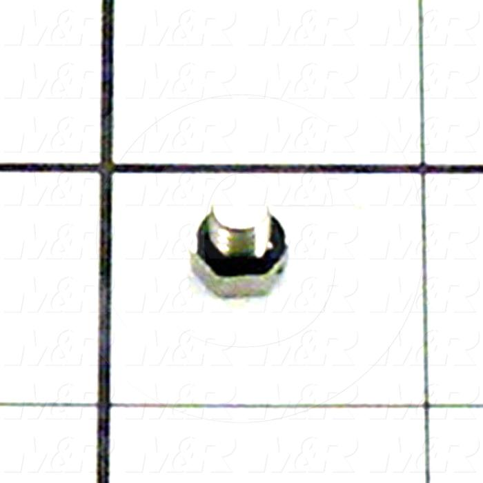 Hardware, M5 Thread Size, Stainless Steel Plug