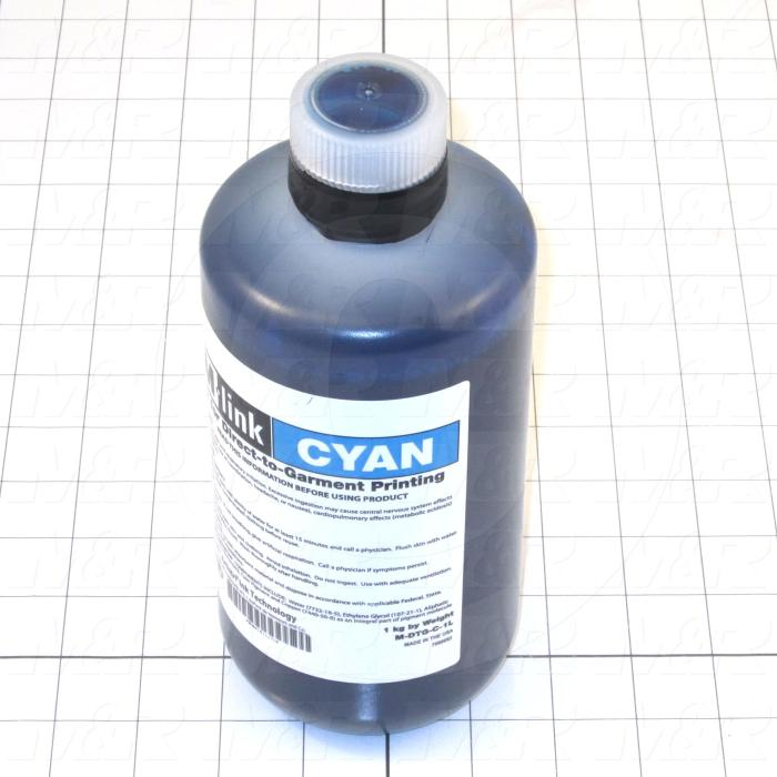 M-Link Ink, Cyan Color, 1 Lter Size