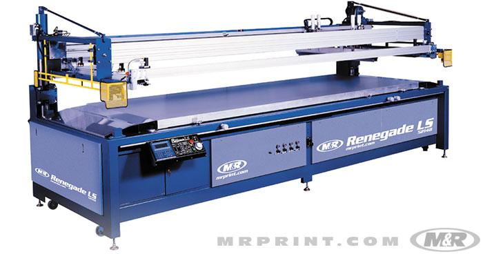 RENEGADE LS™ Flatbed Graphics Press