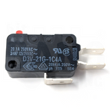 Microswitch 125gf - 0.250in (Omron D3V-21G-1C4A)