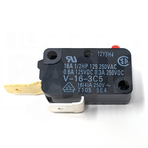 Microswitch 200gf - 0.250in (Omron V-16-3C5)