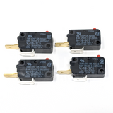 Microswitch 200gf - 0.250in (Omron V-16-3C5) - 4 Pack