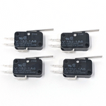 Microswitch 250gf - 0.187in (Omron V-152-1A6) - 4 Pack