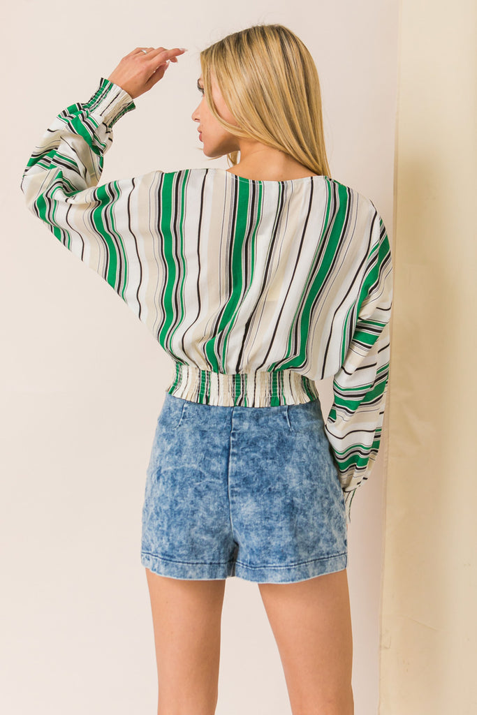 MY DEAREST DARLING STRIPED TOP