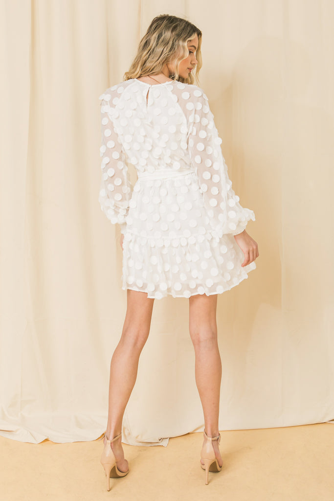SOMEONE YOU LOVED WOVEN MINI DRESS