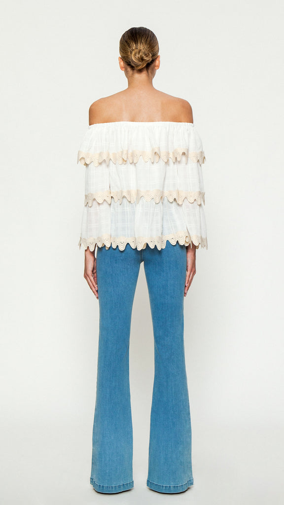 WHAT I LIKE ABOUT YOU WOVEN TOP