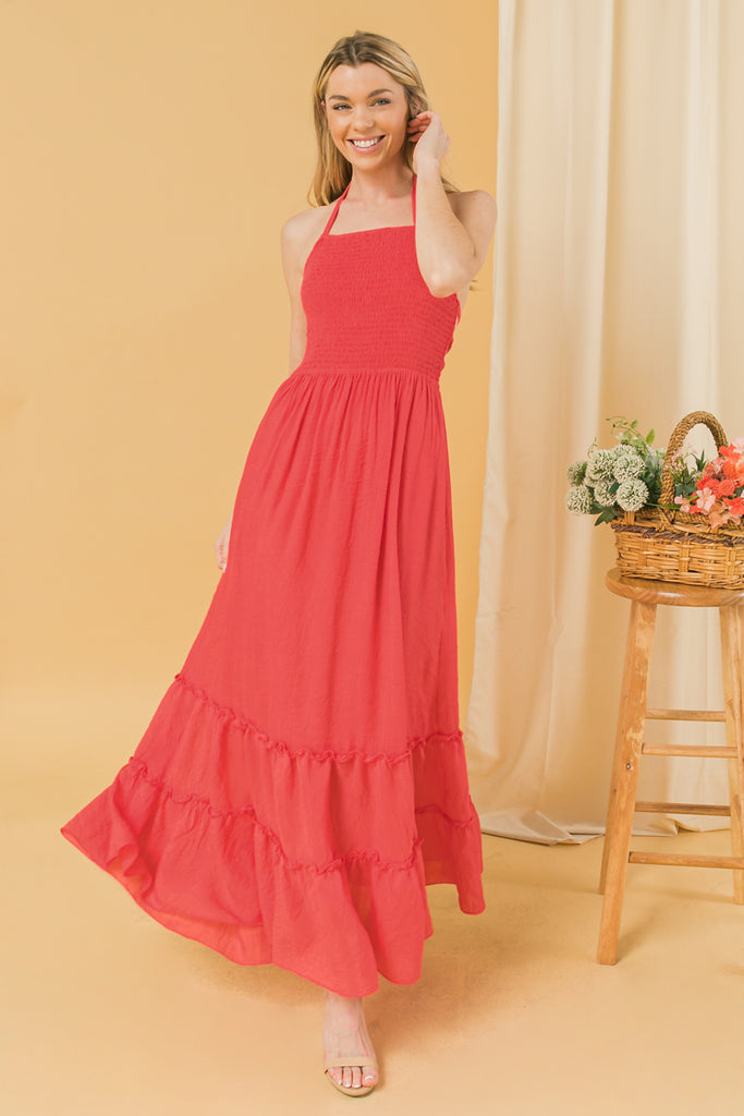 CATCHING SUNSETS MAXI DRESS