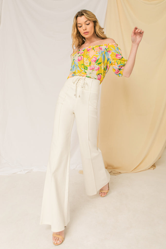 GIRLS TRIP DENIM PANT
