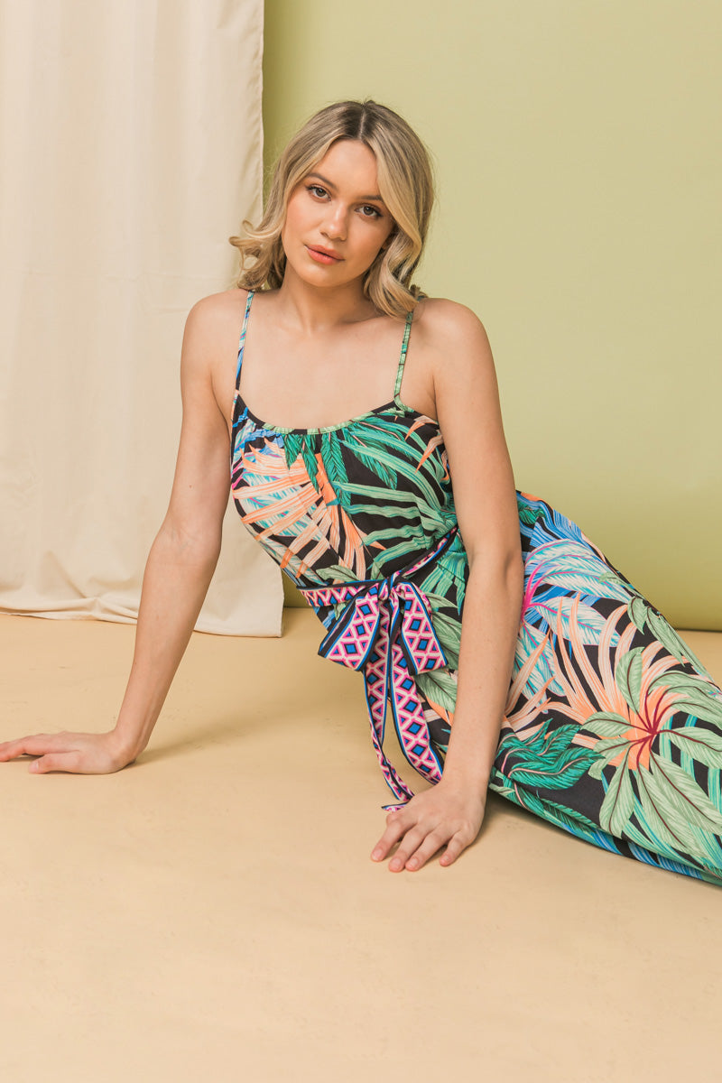HER OWN PATH PASTEL FLORAL MAXI DRESS