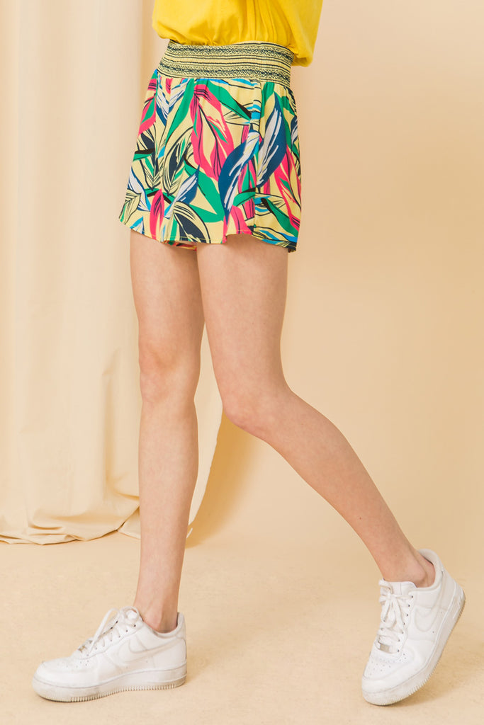 HIT OR MISS WOVEN SHORT