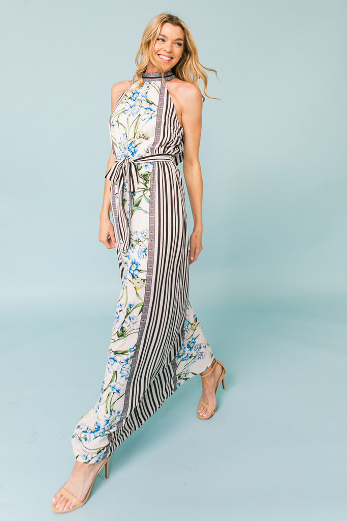 QUEEN OF THE NIGHT MAXI DRESS