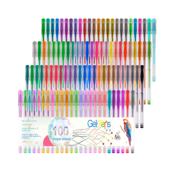 Color Gel Pens For Art Drawing