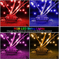 15M Commercial Grade LED String Lights - Multi-Colored