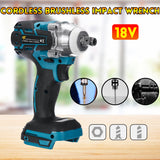 18V Electric Brushless Impact Wrench