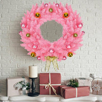 Christmas Wreath - Pink