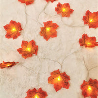 Maple Leaves Garland Led Fairy Lights