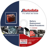 2011 Battery Replacement Reset Procedure Cd