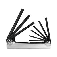9 Piece Sae Fold-up Hex Key Set