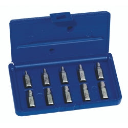 10 Piece Hex Head Multi-spline Extractor Set