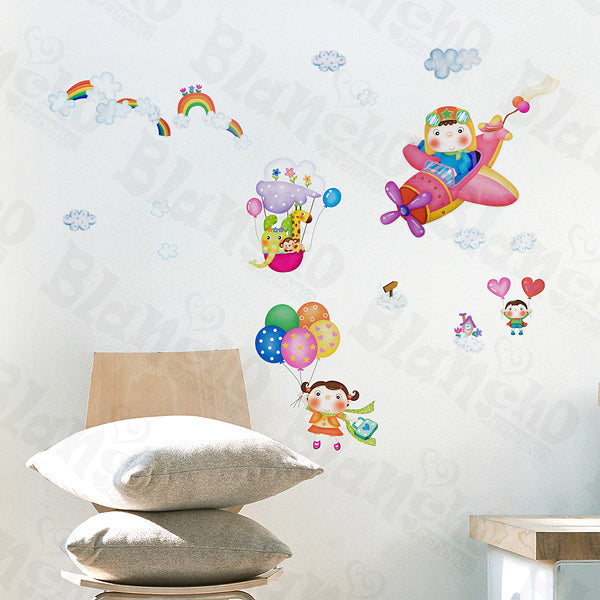 Flying Sky - Wall Decals Stickers Appliques Home Decor