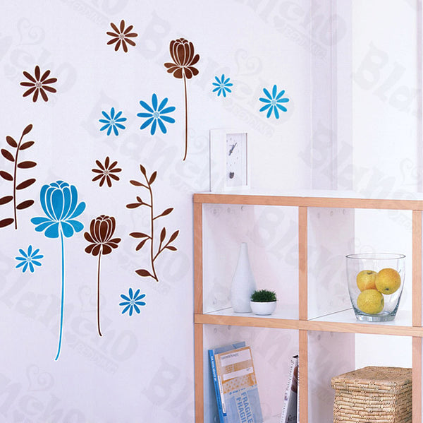 Pleasant Flourish - Wall Decals Stickers Appliques Home Decor