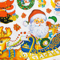 Santa Season - Large Wall Decals Stickers Appliques Home Decor