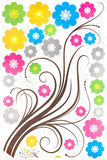 Flowing Tree - X-large Wall Decals Stickers Appliques Home Decor