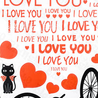 Love Letter - X-large Wall Decals Stickers Appliques Home Decor
