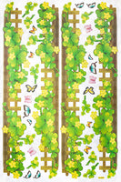 Spring Fence - X-large Wall Decals Stickers Appliques Home Decor