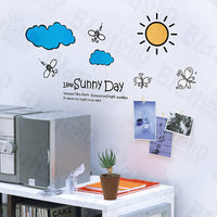 Forever Sunny - Wall Decals Stickers Appliques Home Decor