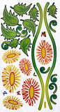 Flourish Pile - Wall Decals Stickers Appliques Home Decor