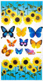 Flying Butterflies 6 - Wall Decals Stickers Appliques Home Decor