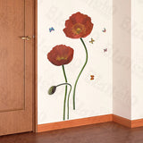 Redness Flowers - Large Wall Decals Stickers Appliques Home Decor