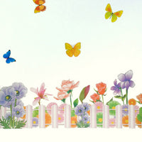 Floral Dream - Large Wall Decals Stickers Appliques Home Decor
