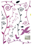 Willow & Swallow - Large Wall Decals Stickers Appliques Home Decor