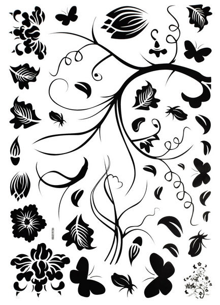 A Blooming Tree - Large Wall Decals Stickers Appliques Home Decor