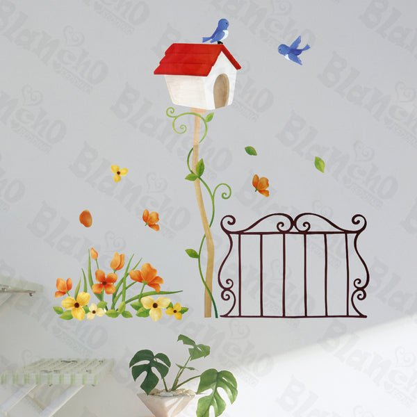 Spring Waltz - Hemu Wall Decals Stickers Appliques Home Decor 12.6 By 23.6 Inches