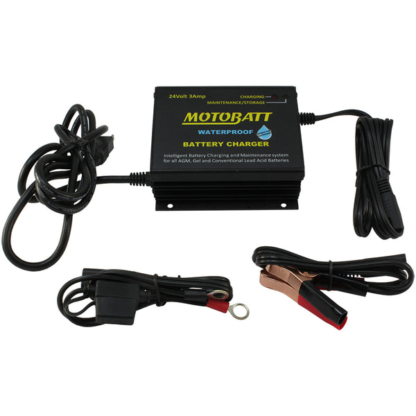 24v Power Boy Waterproof Battery Charger - Maintainer