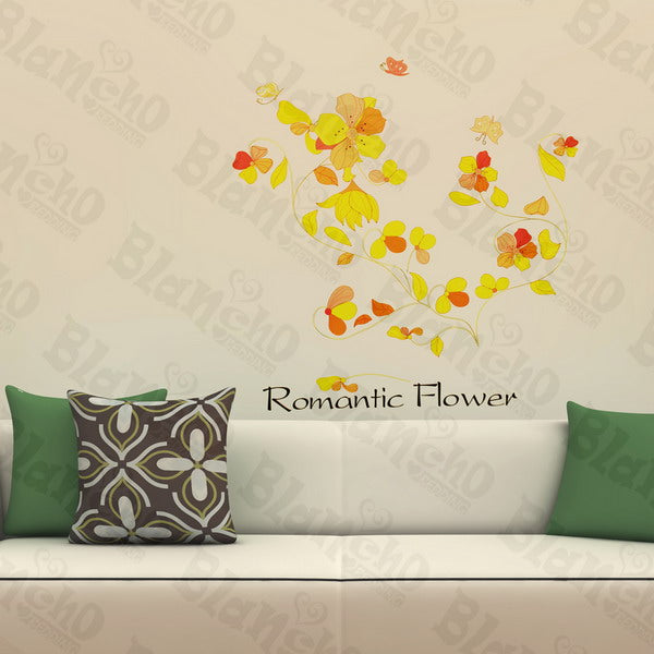 Happiness Blossom - Wall Decals Stickers Appliques Home Dcor