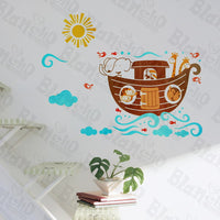 Elephant's Ship - Wall Decals Stickers Appliques Home Dcor