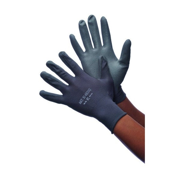 Gray Polyurethane Coated Gloves Extra Large Case Pack 144