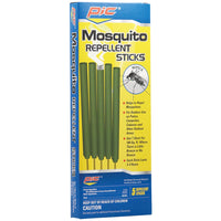 Pic Mos-stk Area Mosquito Repellent Sticks, 5 Pk