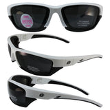 Oriole2 White-black Frame Smoke Lens With Removeable Padded Foam