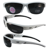 Switchback White-grey Frame Smoke Lens With Removeable Padded Foam