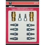 12 Piece M-style Coupler Kit