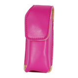 Pink Leatherette Holster For Runt Stun Gun