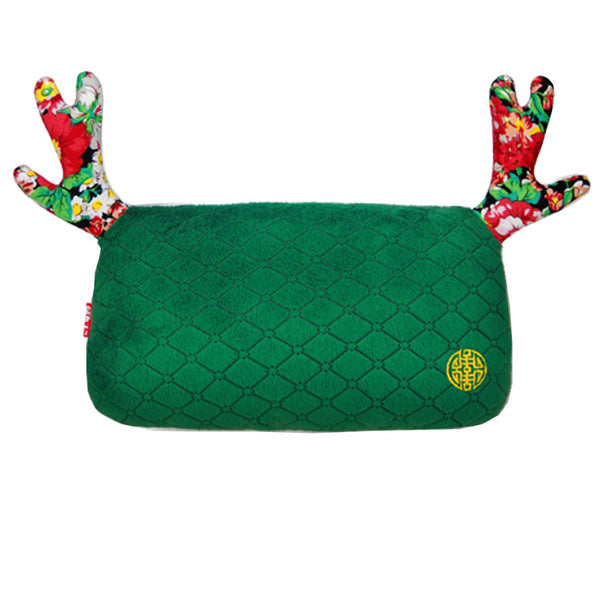 High-quality (lovely Elk) Car Headrest-car Neck Pillow ,china-green