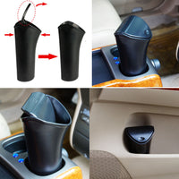 Simple Design Abs Plastic Home Car Trash Can Mini Garbage Can Desk Organizer